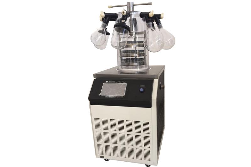 SCIENTZ-12N多歧管压盖型冷冻干燥机