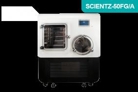 中试型方仓方管硅油加热原位冷冻干燥机SCIENTZ-50FG/A