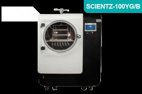 中试型圆仓方管硅油加热原位冷冻干燥机SCIENTZ-100YG/B